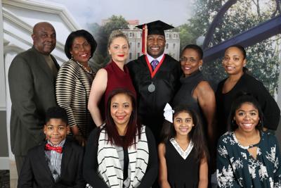 Verron Haynes and family