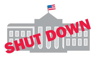 Government Shutdown Graphic