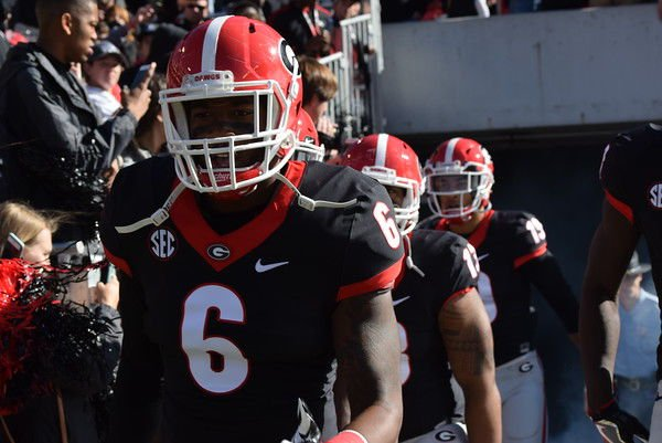 Georgia starting LB Natrez Patrick charged with possession of marijuana