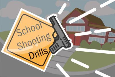 School Shooting Drill Graphic