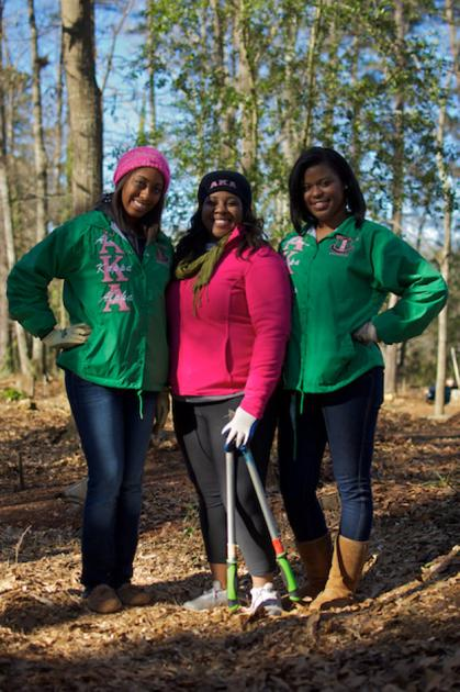 Alpha Kappa Alpha Sorority Remembers Mlk With Day Of