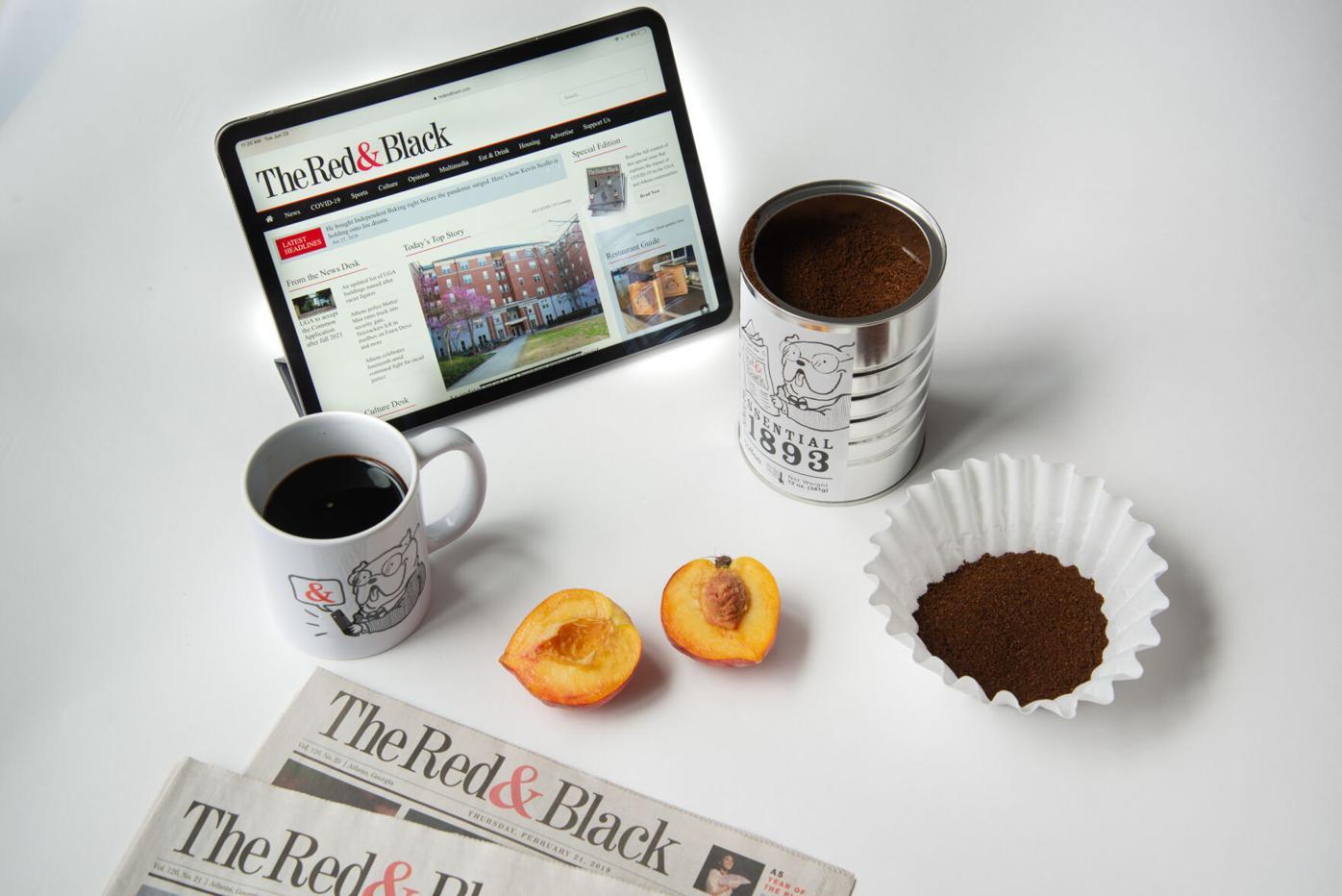 Rand and Black Coffee