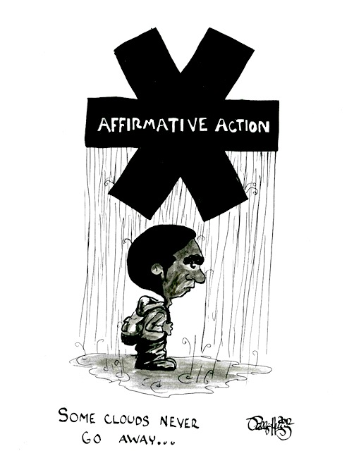 Affirmative Action Effectively Neutralizes College