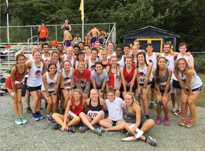 Club cross country team 2016
