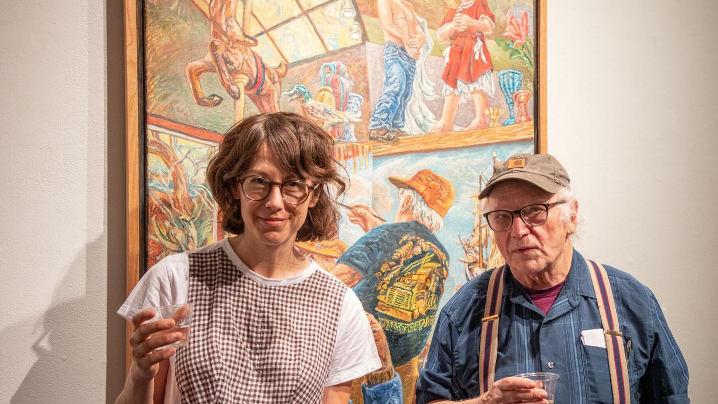 PHOTOS: Art Rosenbaum's opening night at Dodd Galleries
