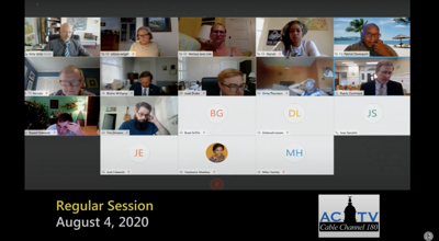 M&C Aug. 4 regular session