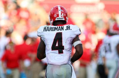 9318e6ea939 Georgia wide receiver Mecole Hardman Jr. carries on family football legacy