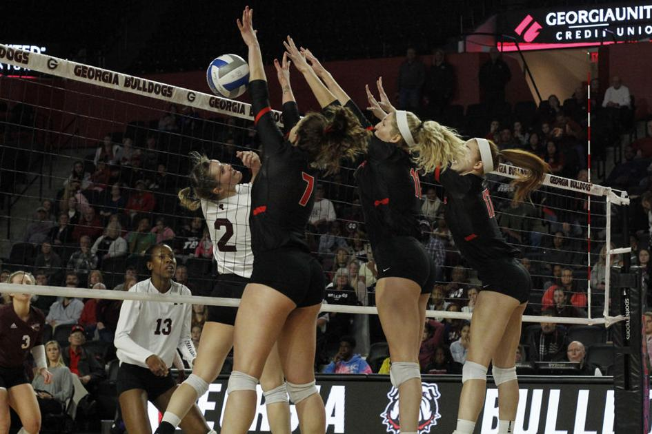 PHOTOS: UGA volleyball defeats Mississippi State to finish season, 3-1