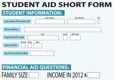 Proposed FAFSA application