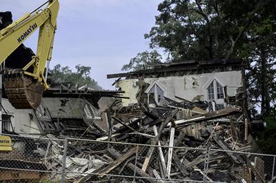 Oconee Street UMC Demolition