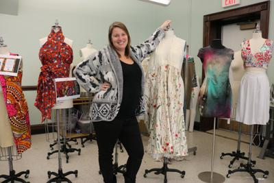 Fashion Friday Assistant Professor Laura Mcandrews Love For Fashion Extends Beyond The Fabric Culture Redandblack Com