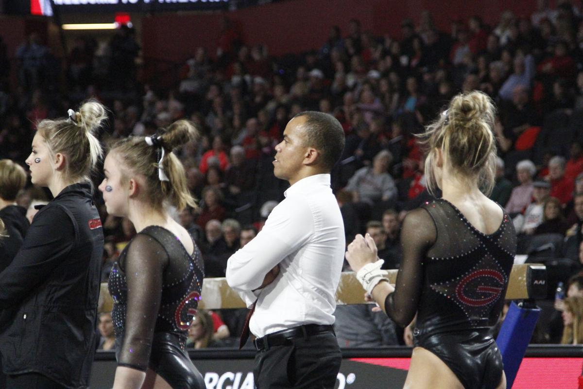 GymDogs assistant coach Charlie Tamayo no longer with program