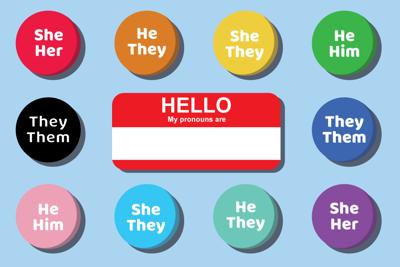 gender awareness, pronouns (PAPER STORY)