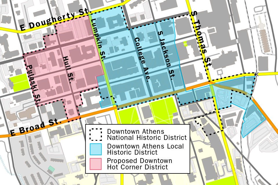 Hot Corner Map