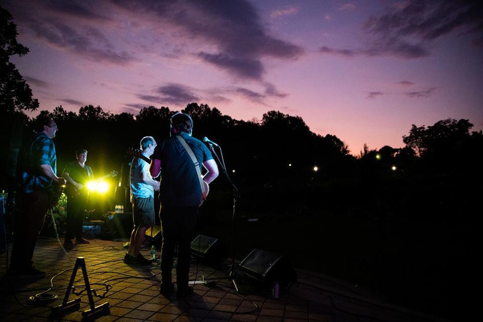 PHOTOS: Elf Power headlines Sunflower Concert at the State Botanical Garden of Georgia at UGA