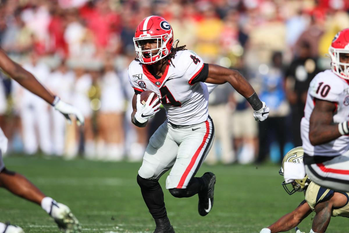 4 Numbers To Know Ahead Of Georgia S Matchup With Arkansas Sports Redandblack Com