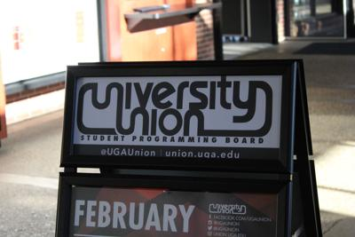 University Union Sign