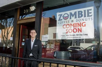 Zombie Coffee and Donuts