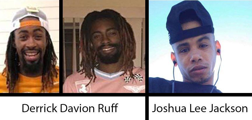 Derrick Ruff, Joshua Jackson missing persons