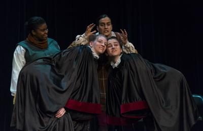 Review: 'Peas, Patelin and Purgation' explores what's modern from the past and what's medieval in the present