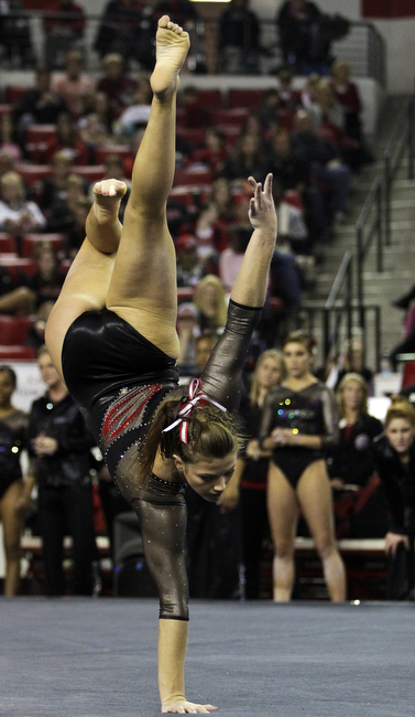 University Of Georgia Athens >> Gym Dogs hope to improve on past intrasquad results at annual Sneak Peek | Sports | redandblack.com