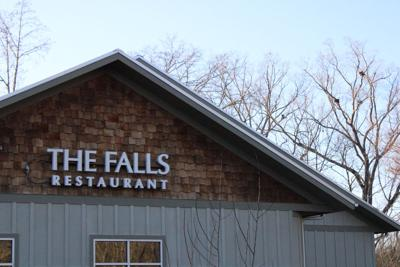 The Falls storefront on Macon Highway
