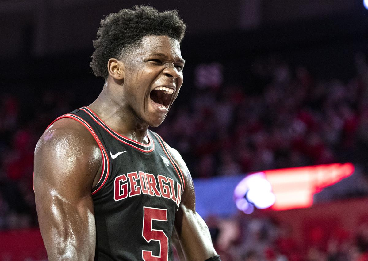 Anthony Edwards Takes Control Of Georgia S Rebounding In 63 48 Win Over Texas A M Sports Redandblack Com