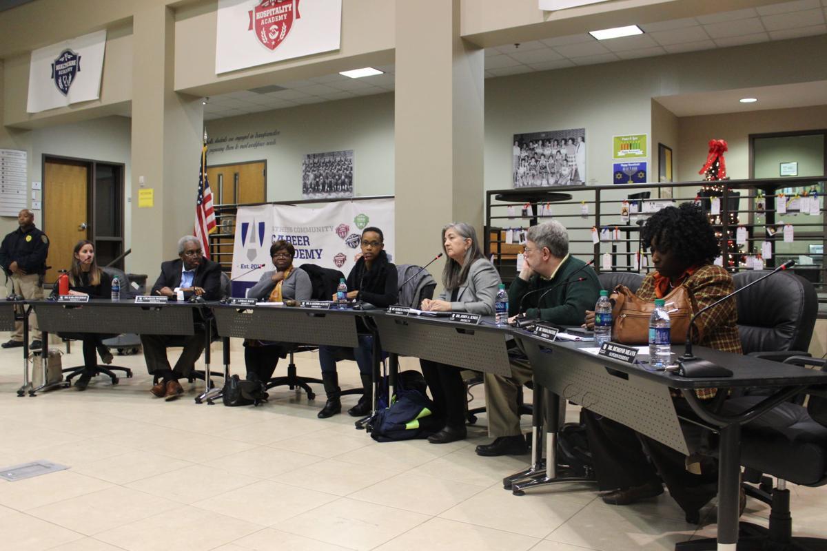 CCSD BOE Meeting 12/19 board members