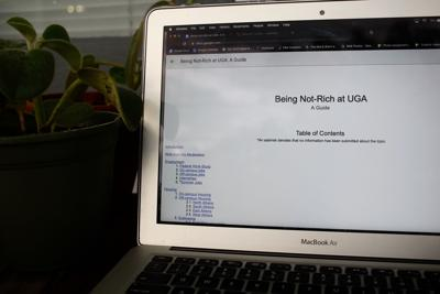 Low income students create 'Being not rich' guide to surviving UGA