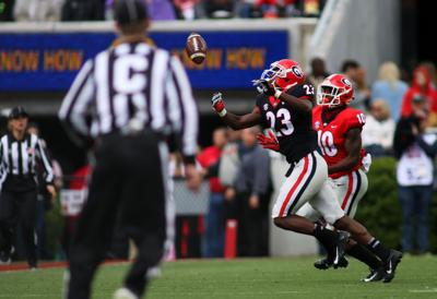 Georgia S First Team Defense Shows Promise In G Day Game