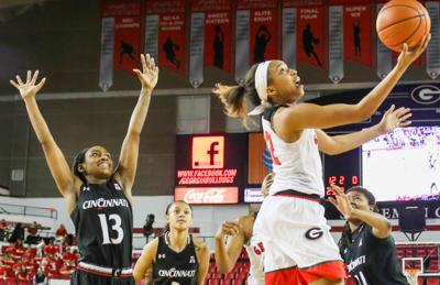 Georgia Lady Bulldogs Basketball versus Cincinnati Bearcats
