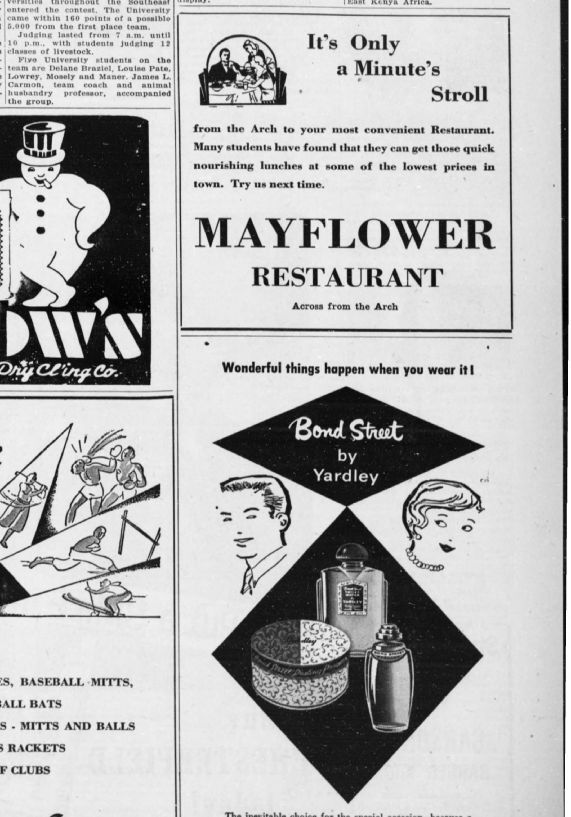 mayflower clipping