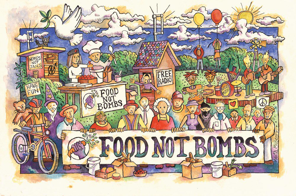 food not bombs courtesy