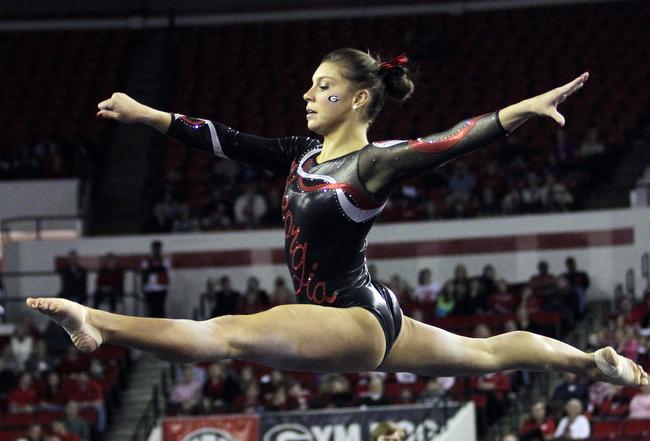 gymnastics meet athens ga 2013