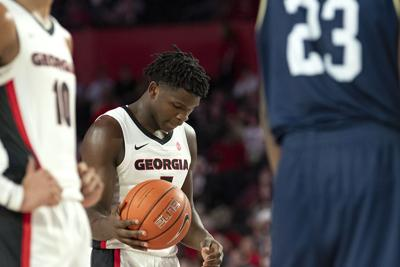 Georgia Men S Basketball Falls To 0 2 In Sec Play With Road