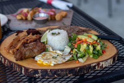 The Bandeja Tropical from Punta Cana Latin Grill