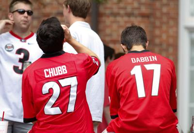 check out 071e7 dce28 Todd Gurley, Nick Chubb among the most popular jersey ...