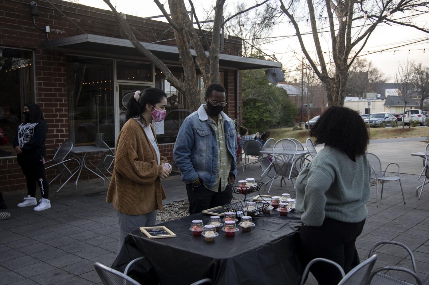 PHOTOS: Athens' Black entrepreneurs, artists gather for market event