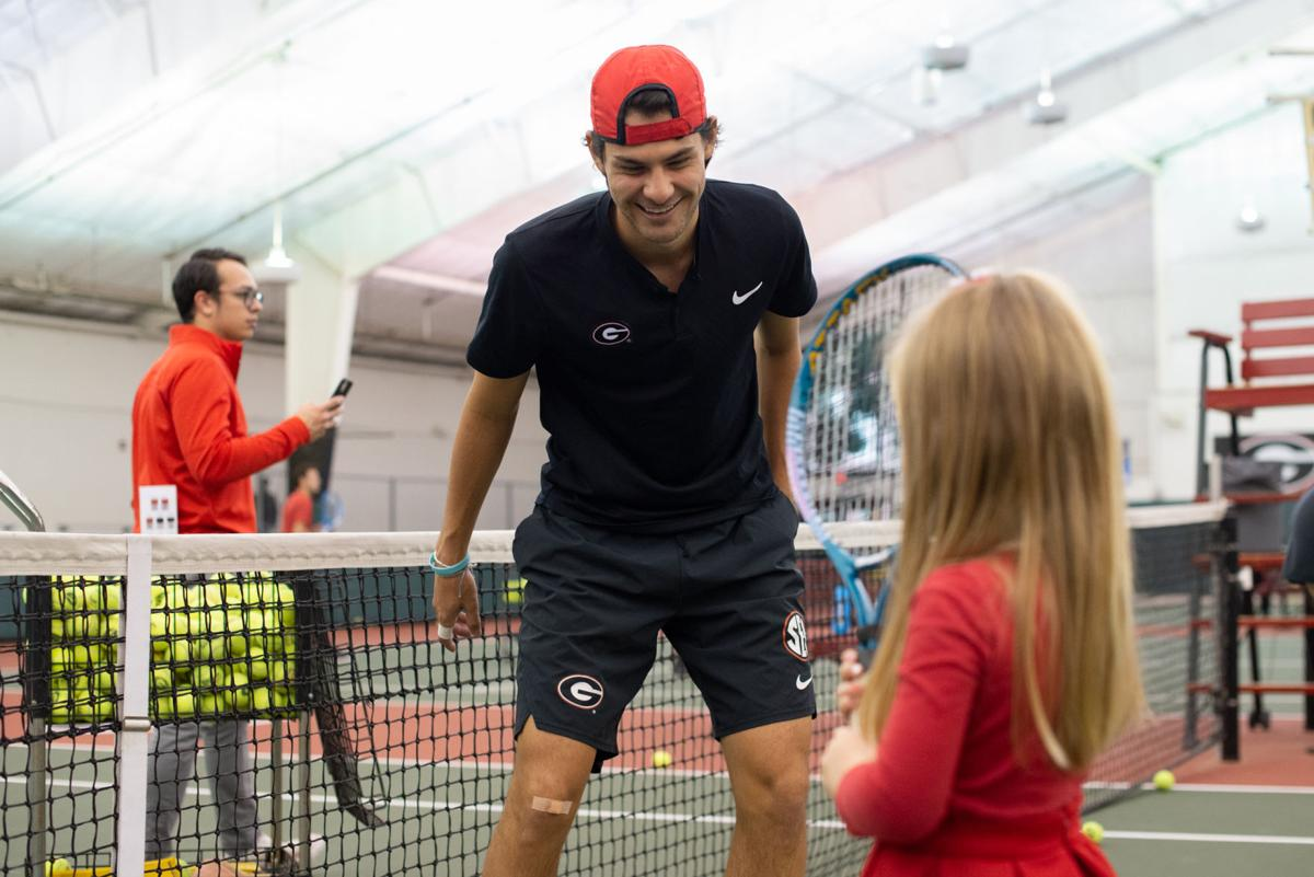 PHOTOS: UGA Tennis teams preview 2020 season with second annual First Serve event
