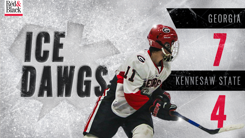 Ice Dawgs beat Kennesaw State graphic