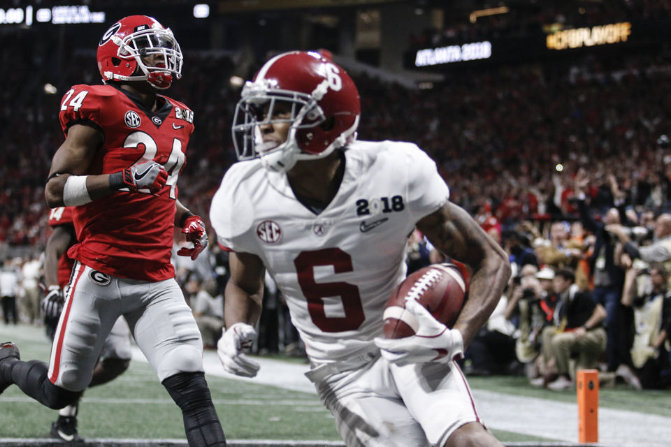 los angeles 08698 a6b45 SEC preview: Assessing Alabama ahead of the 2018 football ...