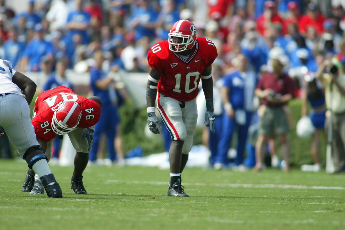 Four former Georgia athletes named to Circle of Honor