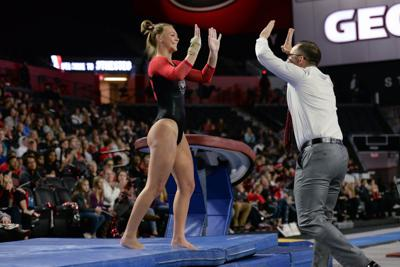Takeaways from Georgia gymnastics' first home meet of the 2020 season