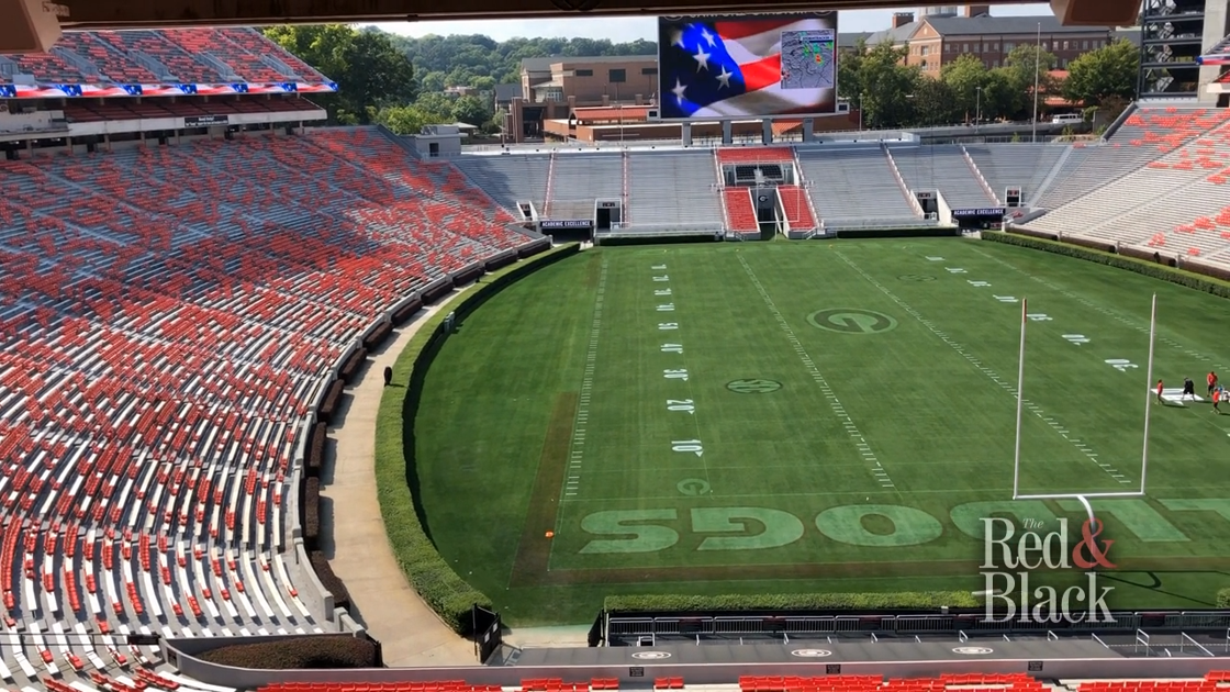 VIDEO: Crew gives behind-the-scenes look at what it takes to keep Sanford Stadium pristine