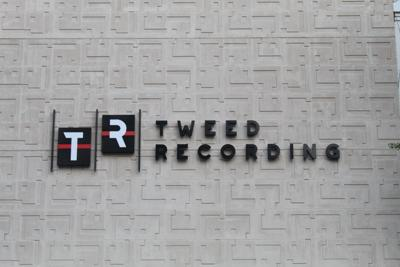 tweed recording sign
