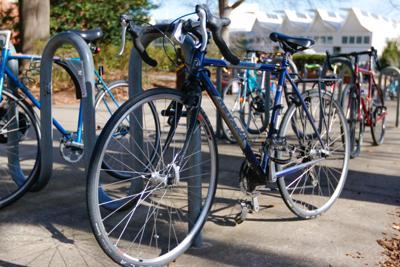 bike paper photo