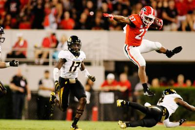 How Nick Chubb s combine results would fare against track and field ... 62207a4de