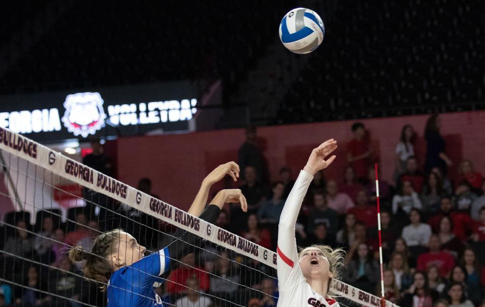 UGA volleyball falls to Florida, 3-0