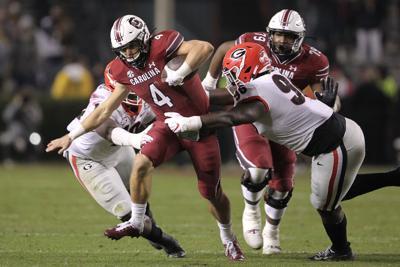 Zion Logue tackle