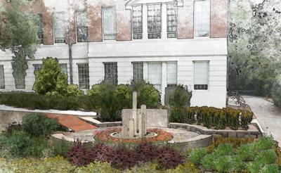 Baldwin Hall memorial